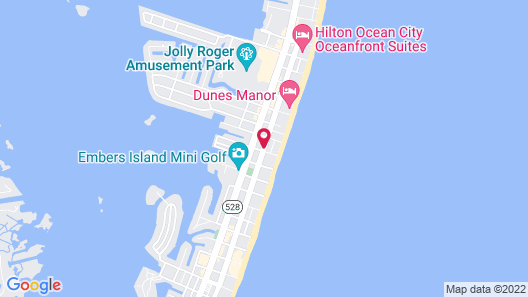 Flagship Oceanfront Hotel Map