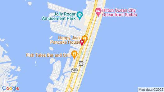 Fairfield Inn & Suites by Marriott Ocean City Map