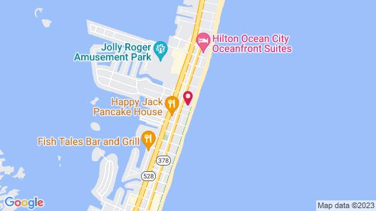 Seabonay Oceanfront Motel Map