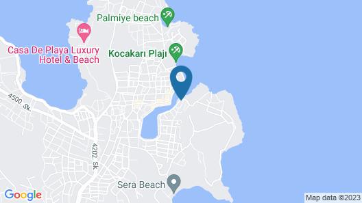 Kubana Hotel Map