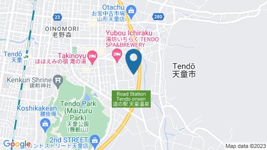 Shouhakutei Azumaso Map
