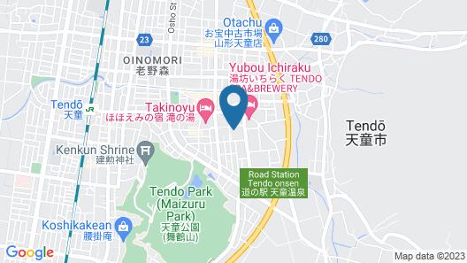 Tendo Onsen Tendo Grand Hotel Maizuruso Map