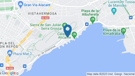 Hotel Albahia Map