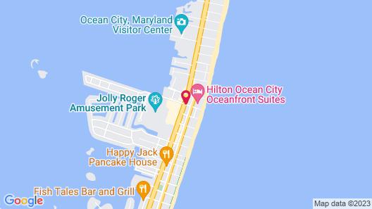 La Quinta Inn & Suites by Wyndham Ocean City Map