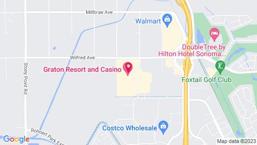 Graton Resort & Casino Map