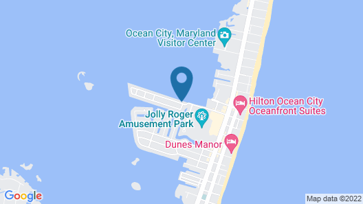 Ocean High by Capital Vacations Map