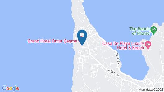 Grand Hotel Ontur Map