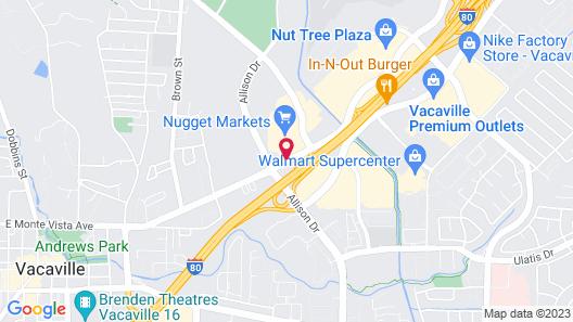 Best Western Heritage Inn Map