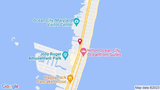 Tru by Hilton Ocean City Bayside Map
