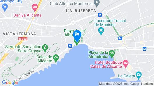 Stay Alicante - Vistabella Map