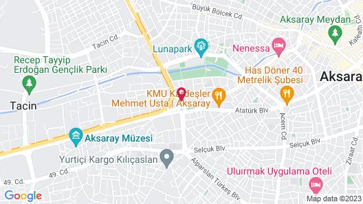 Ahsaray Otel Map