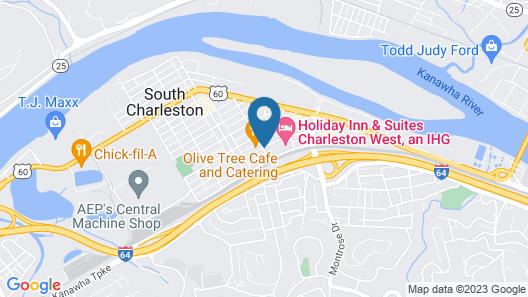 Fairfield Inn & Suites by Marriott Charleston Map