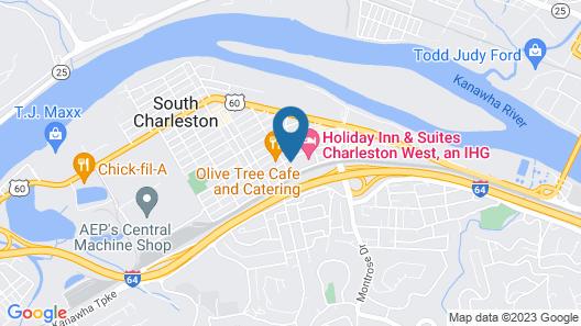 Holiday Inn Hotel & Suites Charleston West, an IHG Hotel Map