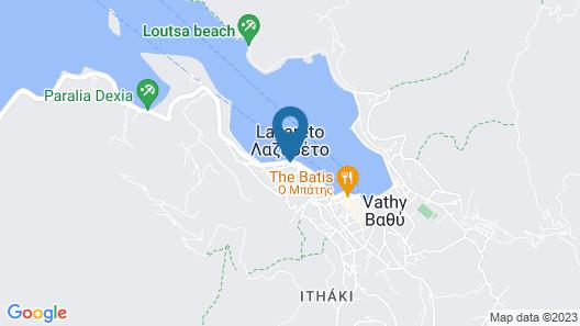 Cavos  Seaside  House Map