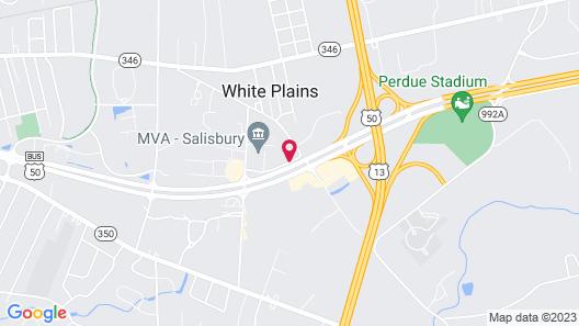 Microtel Inn & Suites by Wyndham Salisbury Map