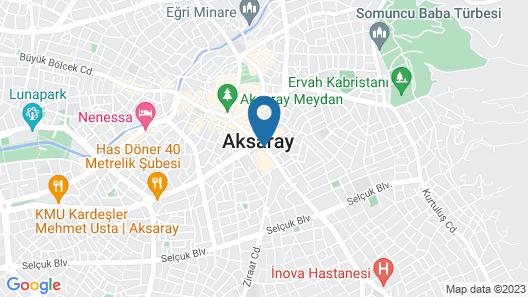 Safir Apart Otel Map