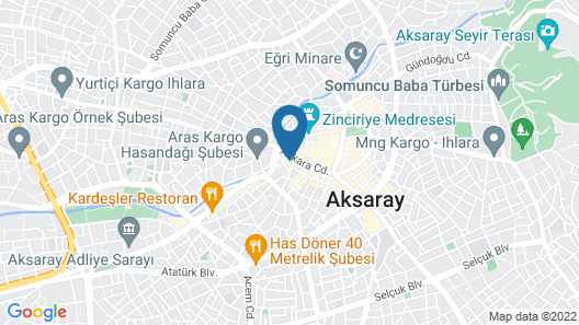 Suvari Hotel Map