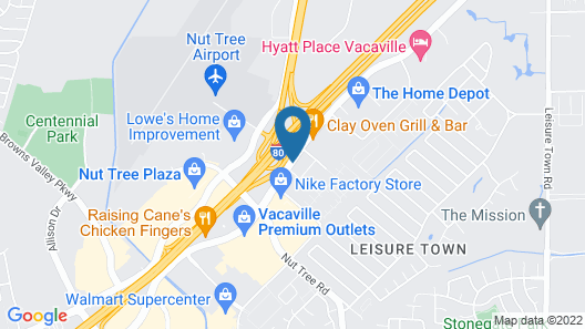 Residence Inn by Marriott Vacaville Map