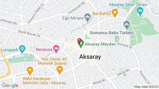 Grand Saatcioglu Otel Map