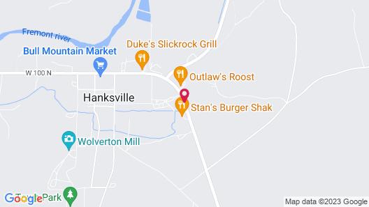 Whispering Sands Motel Map