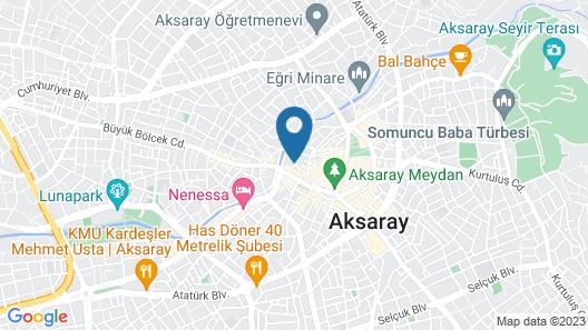 Ulusaray Rezidence Map