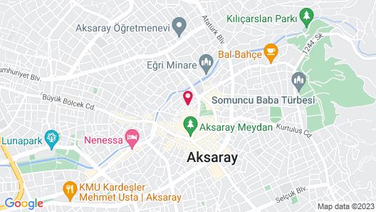 Meryem Hotel Map