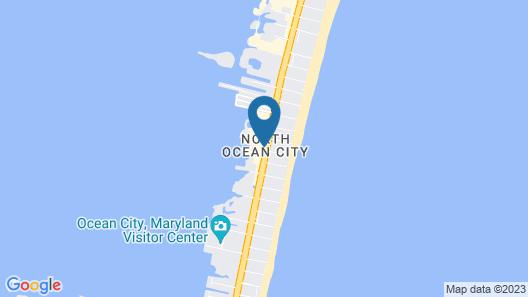 Princess Bayside Beach Hotel Map