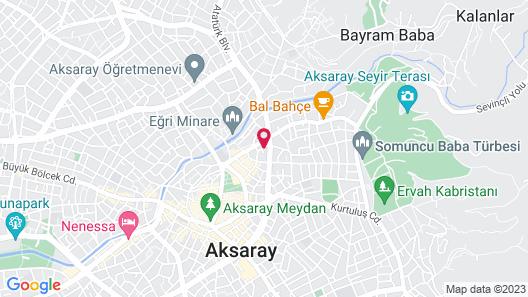 Aksaray Liva Hotel Map
