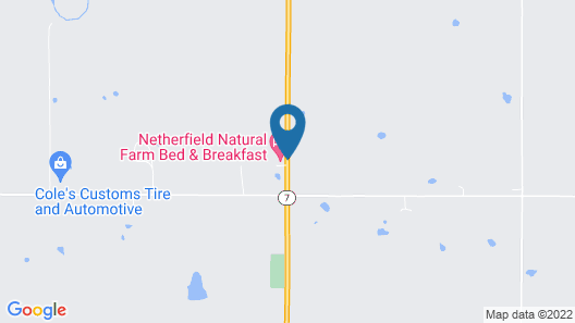 Netherfield Natural Farm Map