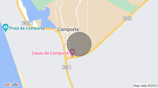 Comporta Sweet Home - Place Where Calm Reigns and Energies are Renewed! Map