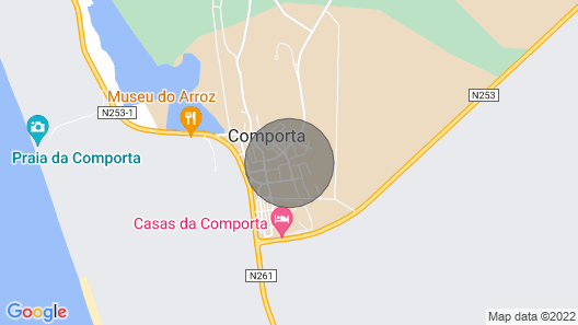 Villa Comporta With Pool Near THE Beach Town Center Map
