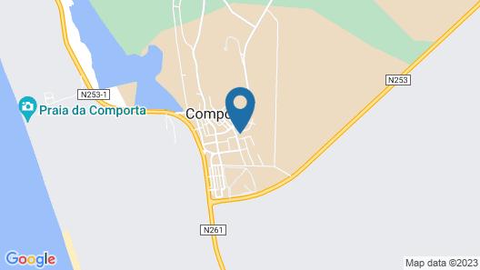 Comporta Family Beach House Map