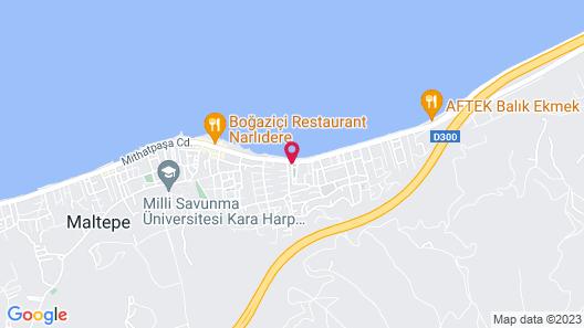 Hotel Rudis Map