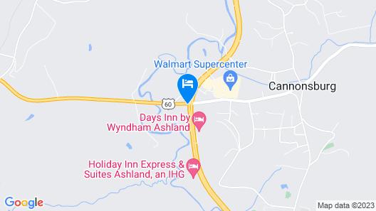 Days Inn by Wyndham Ashland Map