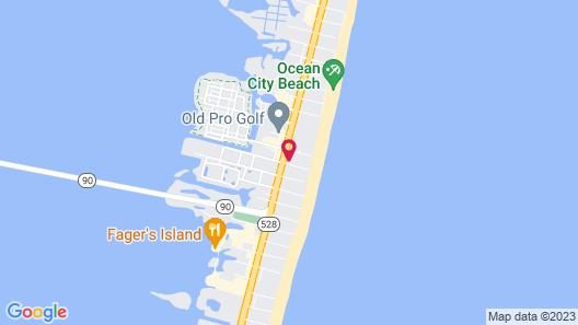 Holiday Inn Ocean City, an IHG Hotel Map