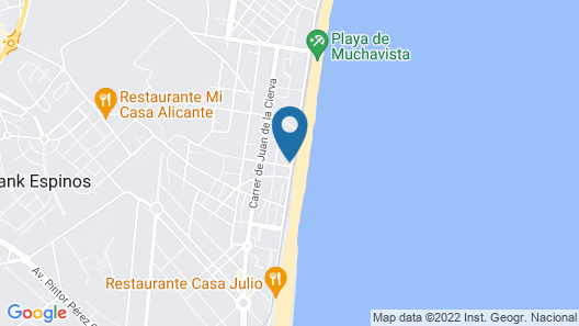 Apartamento Costa Blanca Map
