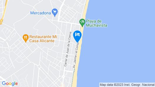 Loft Playa Mucha Vista Map