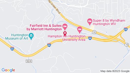 Fairfield Inn & Suites by Marriott Huntington Map