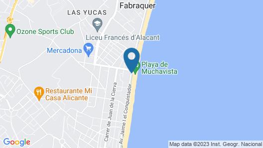 Hostal San Juan Map