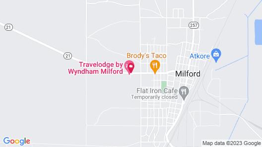 Travelodge by Wyndham Milford Map