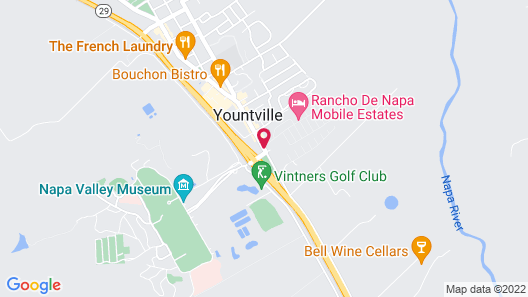 Hotel Yountville Map