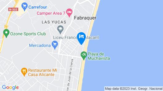 MyFlats La Cenia Map