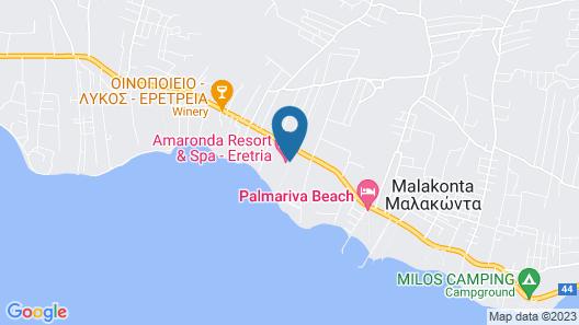 Amaronda Resort & Spa Map