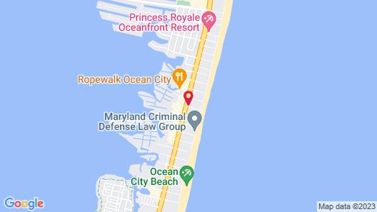 Bonita Beach Hotel Map