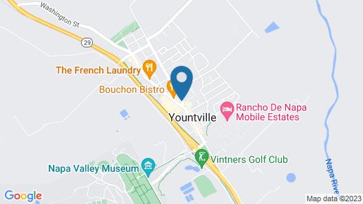 Bardessono Hotel and Spa Map