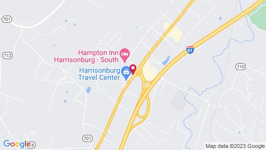 Holiday Inn Express Harrisonburg, an IHG Hotel Map