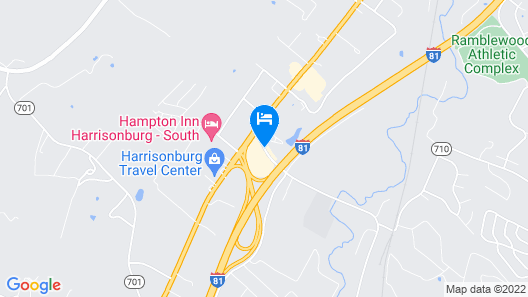 Microtel Inn & Suites by Wyndham Harrisonburg Map