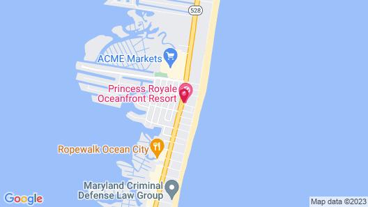 Princess Royale Oceanfront Resort Map