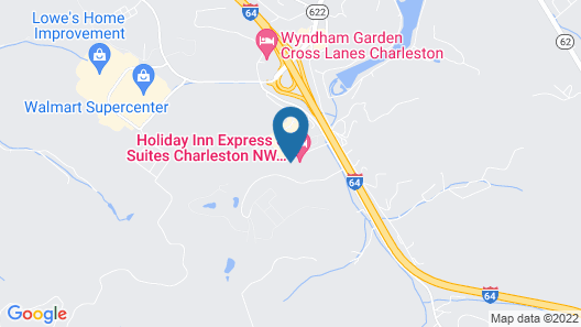 Holiday Inn Express Hotel & Suites Cross Lanes, an IHG Hotel Map