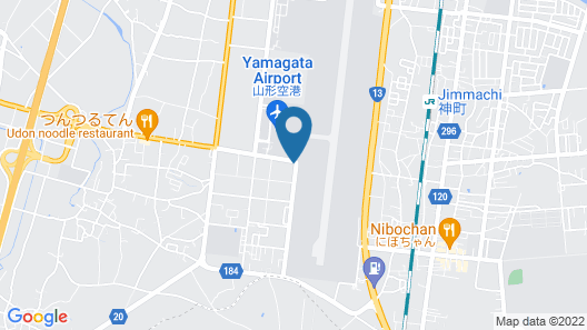 Hotel Sulata Yamagata Airport Adult Only Map